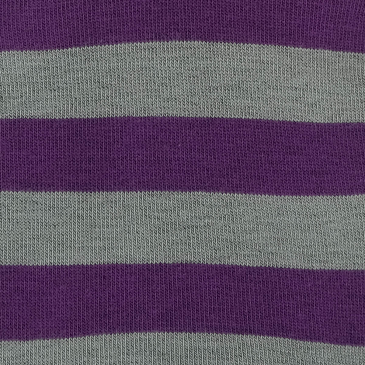 Womens Socks - Rugby Stripes Women's Socks - Purple⎪Etiquette Clothiers