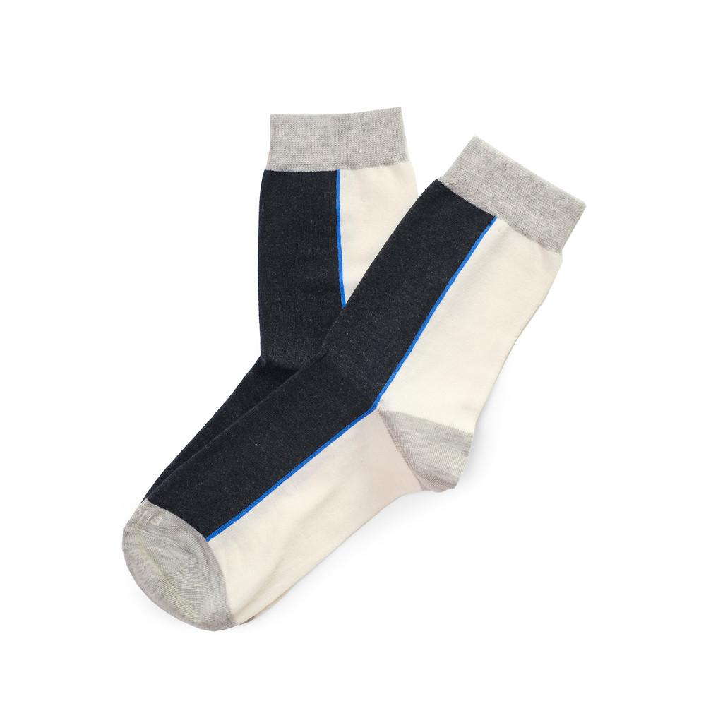 Womens Socks - Two Faced Women's Socks - Dark Blue⎪Etiquette Clothiers