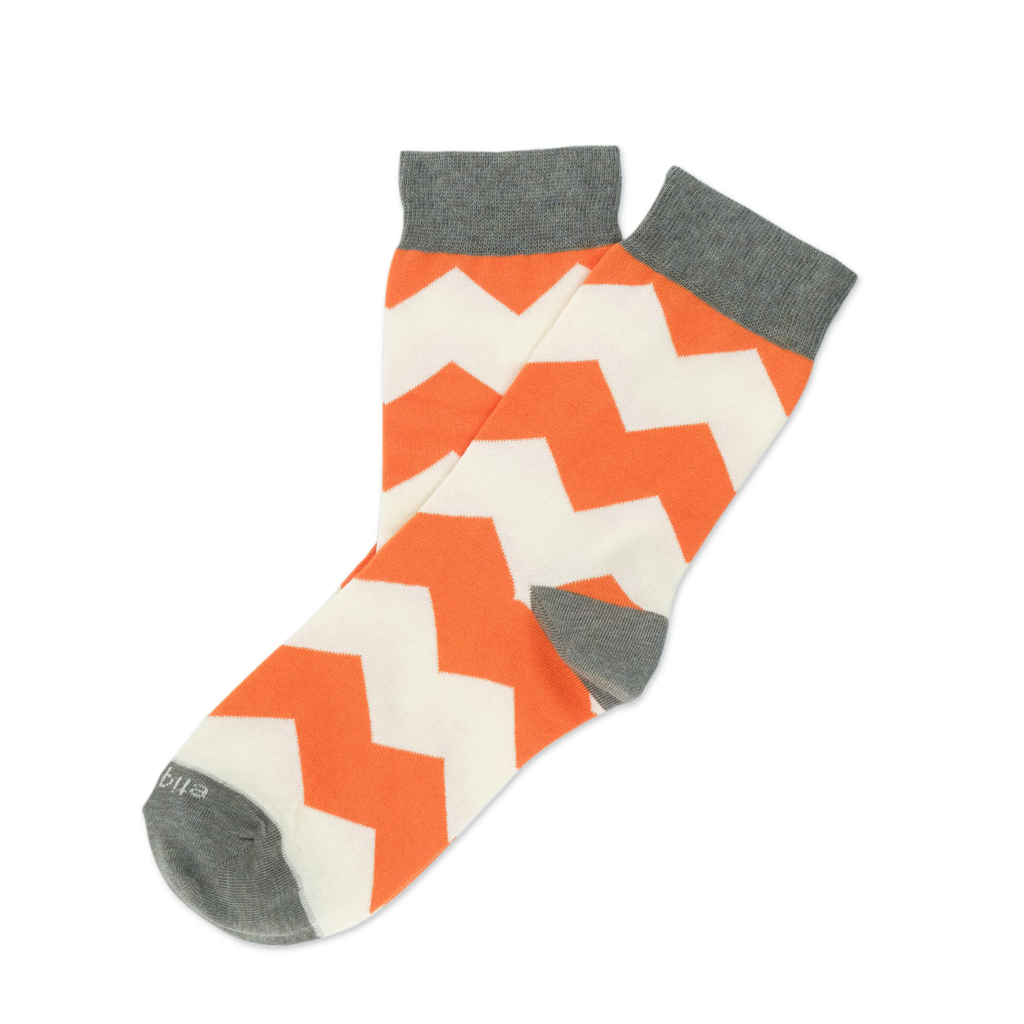 Womens Socks - Everest Stripes Women's Socks - Orange⎪Etiquette Clothiers