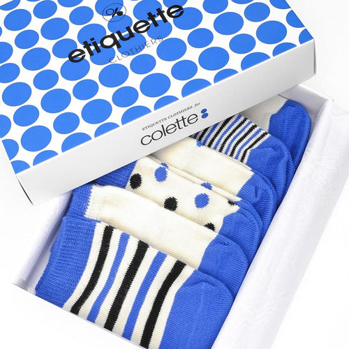 Etiquette x Colette Baby Socks Bundle  - Alt view