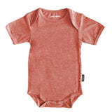 Baby Socks - Baby Onesie & Socks 3 to 6 mo. - Vintage Red⎪Etiquette Clothiers