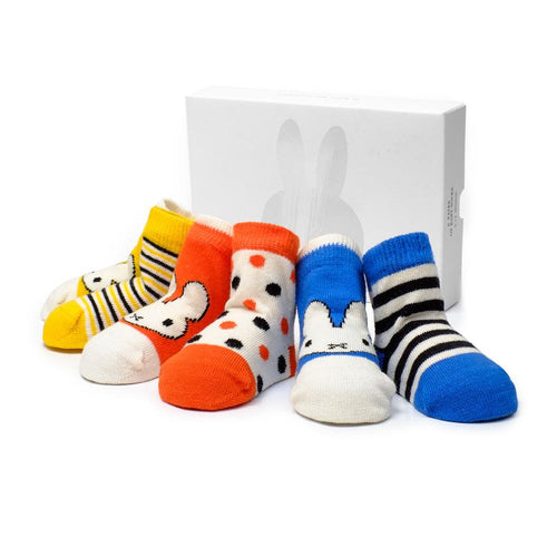 Etiquette x Miffy Classic Baby Socks Bundle