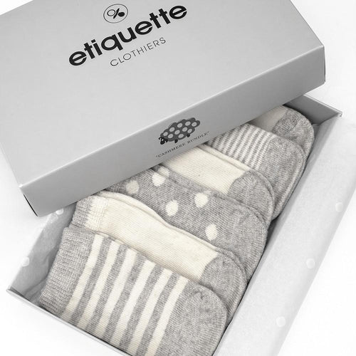 Cashmere Baby Socks Bundle  - Alt view