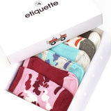 Baby Socks - Camouflage Baby Girls Socks Bundle - Multi⎪Etiquette Clothiers