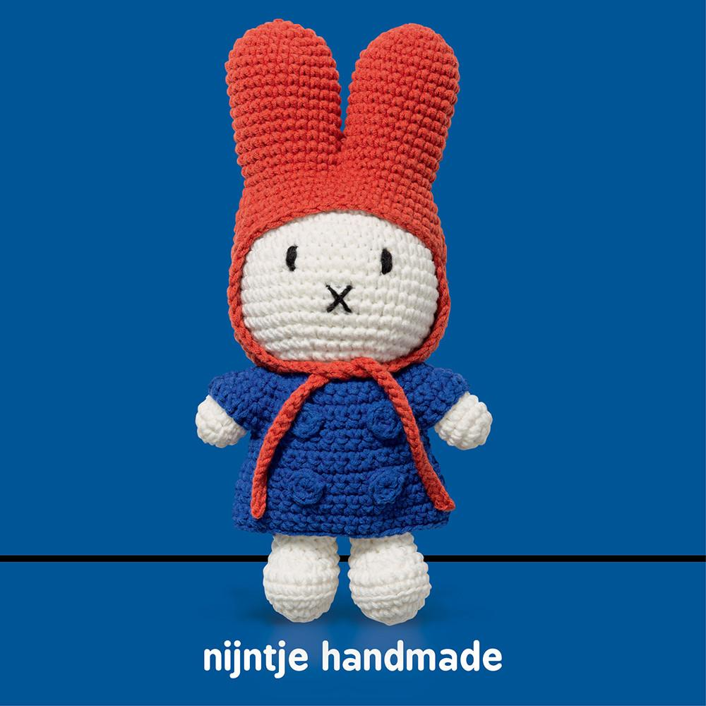 Miffy Club - Blue Jacket & Red Hood Doll - Miffy Handmade⎪Etiquette Clothiers