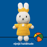 Miffy Club - Yellow Queen Set Doll - Miffy Handmade⎪Etiquette Clothiers