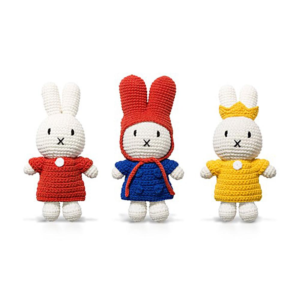 Miffy Club - Red Dress Doll - Miffy Handmade⎪Etiquette Clothiers
