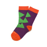 Kids Socks - Super Heroes - Purple⎪Etiquette Clothiers