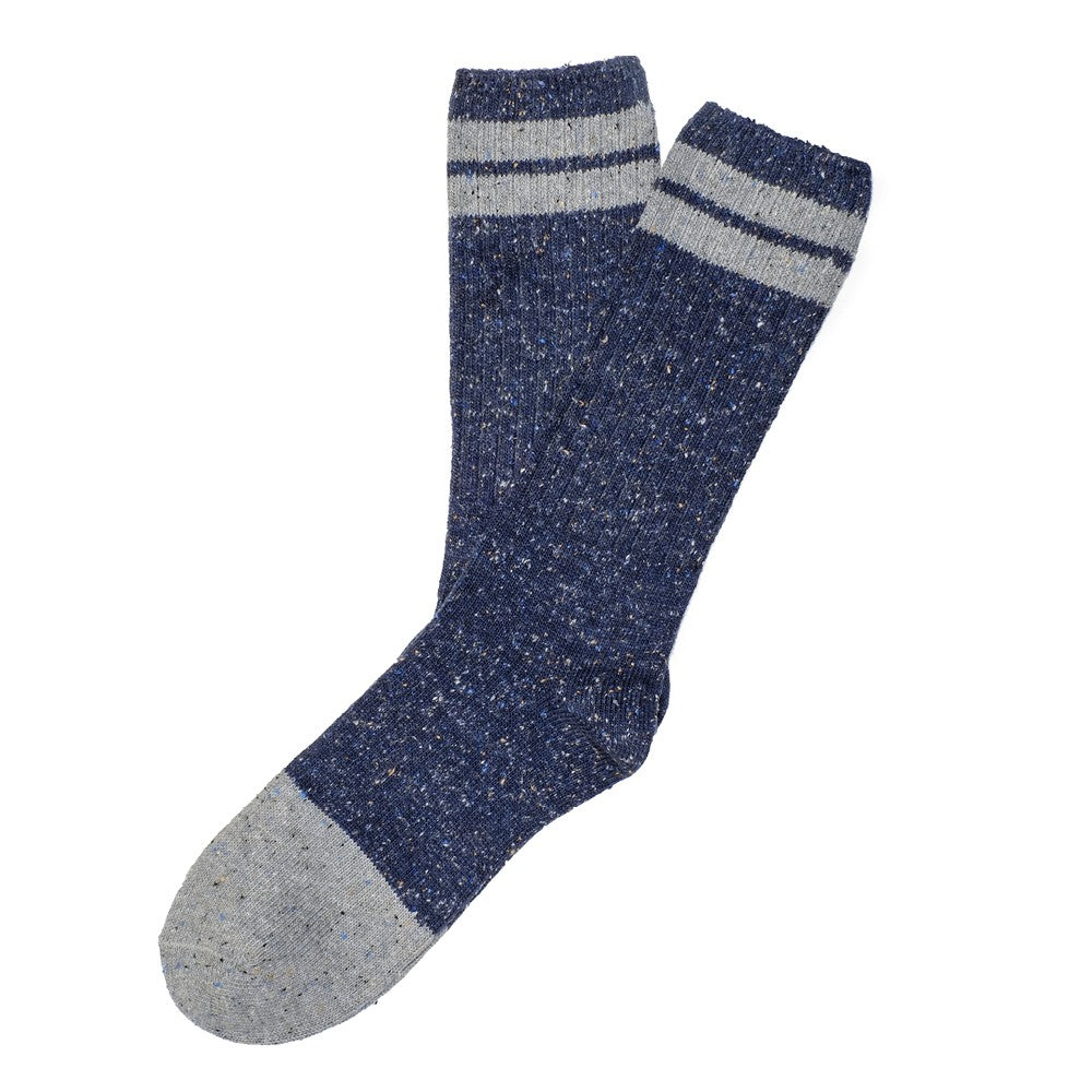 Mens Socks - Smart Nope - Blue⎪Etiquette Clothiers