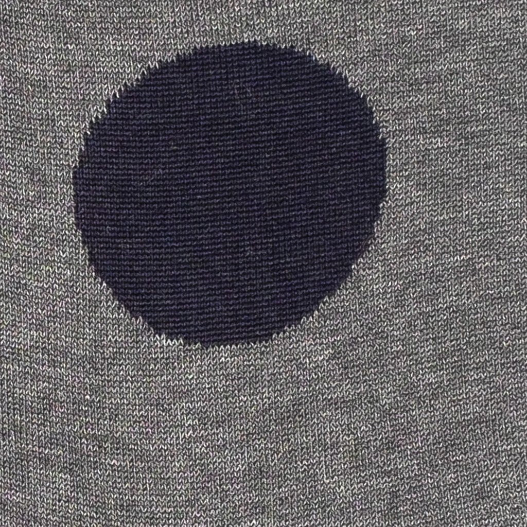 Mens Socks - Big Dots - Dark Grey⎪Etiquette Clothiers