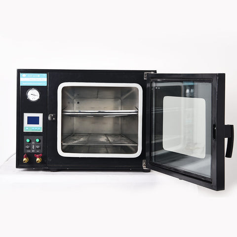 110V /220V 0.9 Cu Ft Lab Digital 55L Electrical Vacuum Drying Oven DZF-6050 Stainless Steel Digital Display