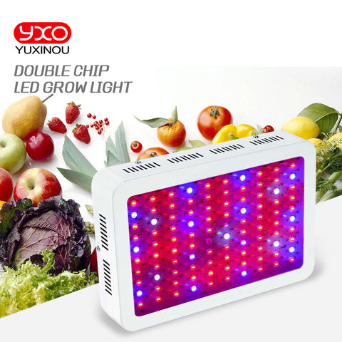 Full Spectrum 45W 300W 600W 1000W 1600W Double Chip LED Grow Light lamps Red/Blue/White/UV/IR For hydroponics and indoor plants