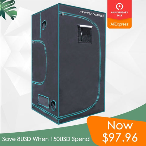 1680D Marshydro Indoor Hydroponics grow tent 100*100*180cm ,Grow kit,Completely LED Indoor Growing System