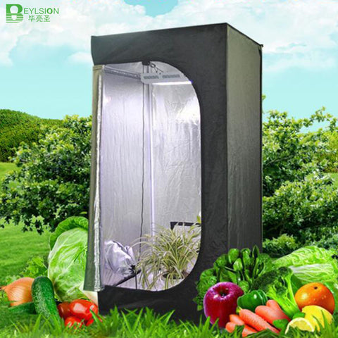 BEYLSION Reflective Mylar Plant Grow Tent Growing Tent for Plants Grow Kit 50*50*100CM Indoor Hydroponics