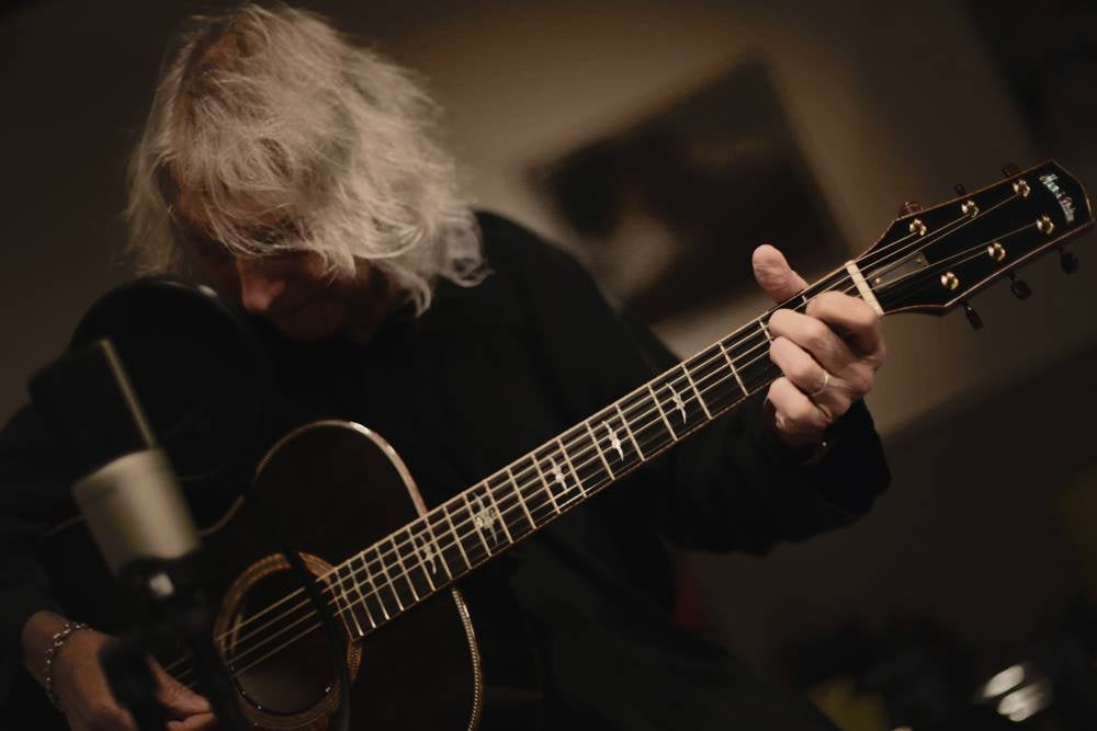 Albert Lee and Huss & Dalton Guitars