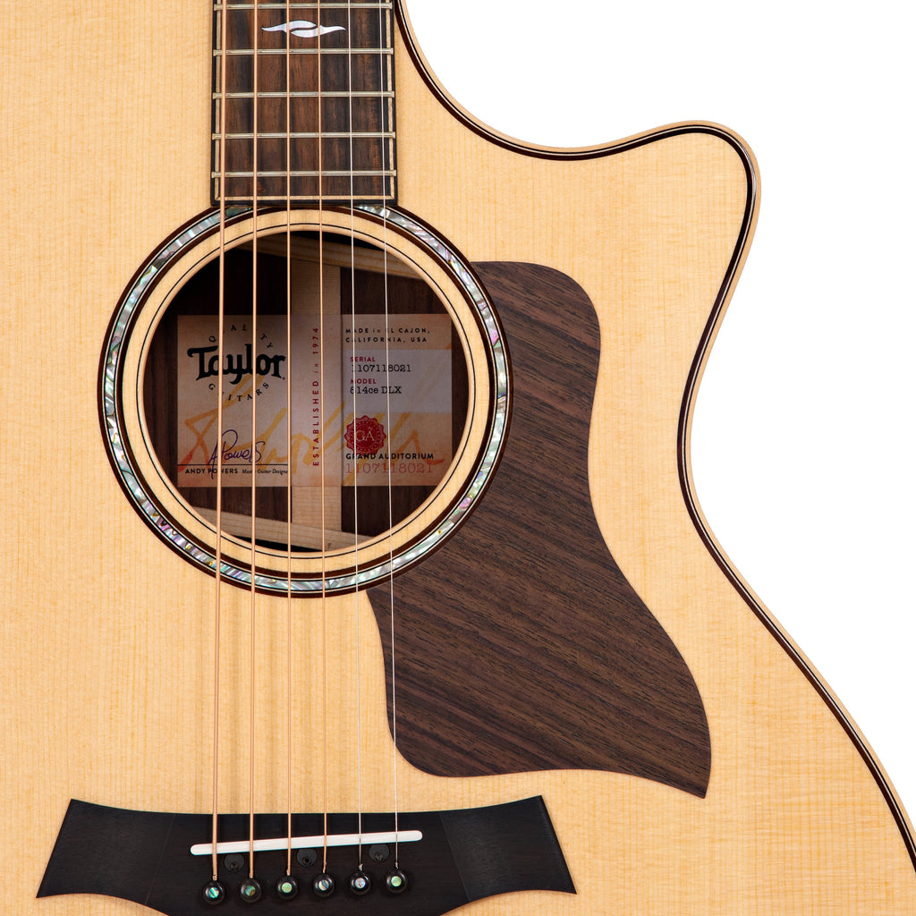 Taylor Tuesday:  the Taylor 814ce Deluxe with V-Class Bracing