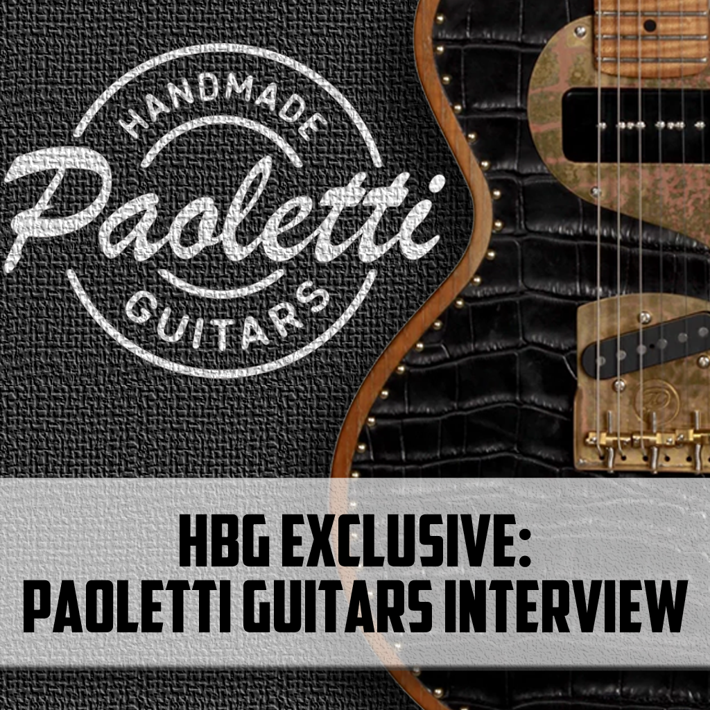 Paoletti Guitars:  An HBG Exclusive Interview with the Great Italian Guitar Makers