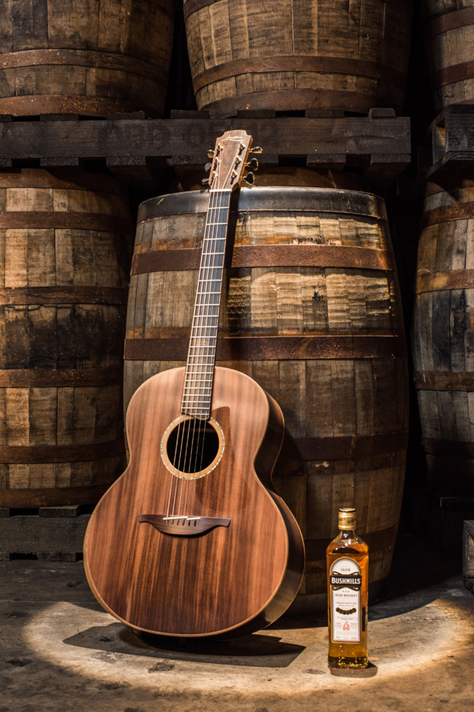 The Limited Edition Bushmills X Lowden Guitars