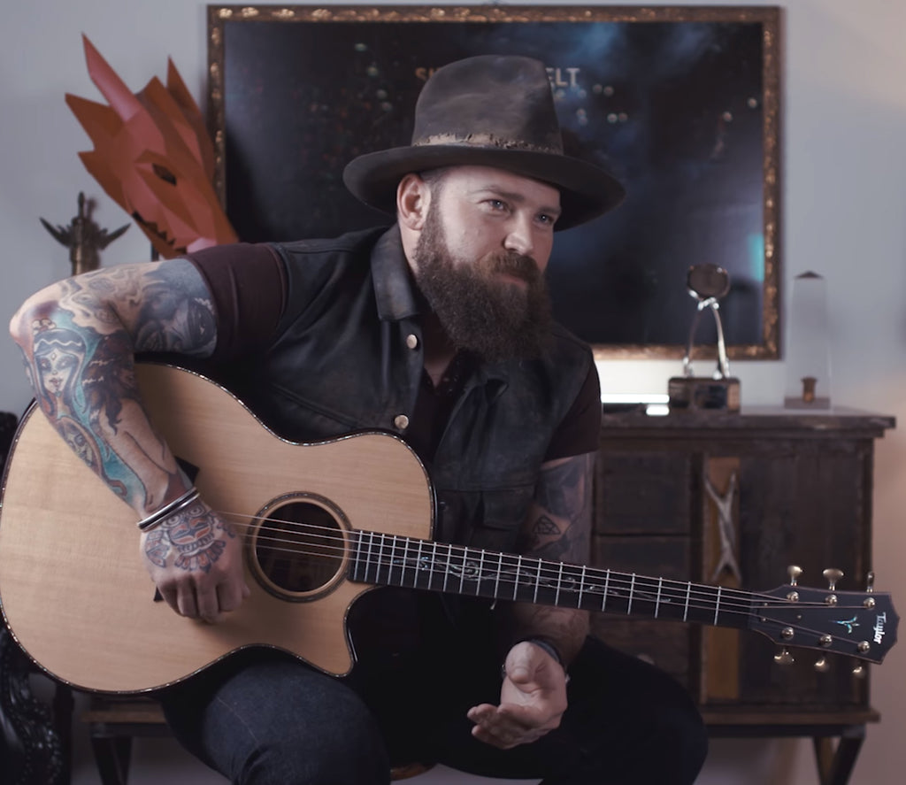 Taylor Tuesdays:  Zac Brown - His Taylor and his Heart