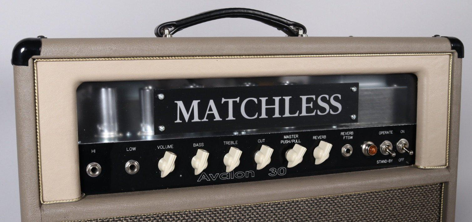 The Matchless Avalon 30 Amp with Reverb #00393 - Matchless Amplifiers - Heartbreaker Guitars