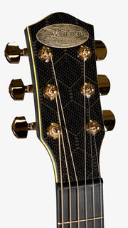 McPherson Carbon Fiber Touring Yellow with Gold Hardware, Honeycomb Finish 2020 - McPherson Guitars - Heartbreaker Guitars