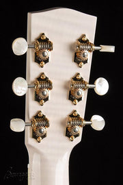 Bourgeois Whyte Rabbit L-DB0 Transparent White Limited - Bourgeois Guitars - Heartbreaker Guitars