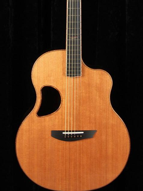 McPherson 4.5 Redwood over Ziricote - Heartbreaker Guitars - Heartbreaker Guitars