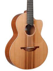 Lowden S50J Flamed Mahogany Jazz Nylon - Lowden Guitars - Heartbreaker Guitars