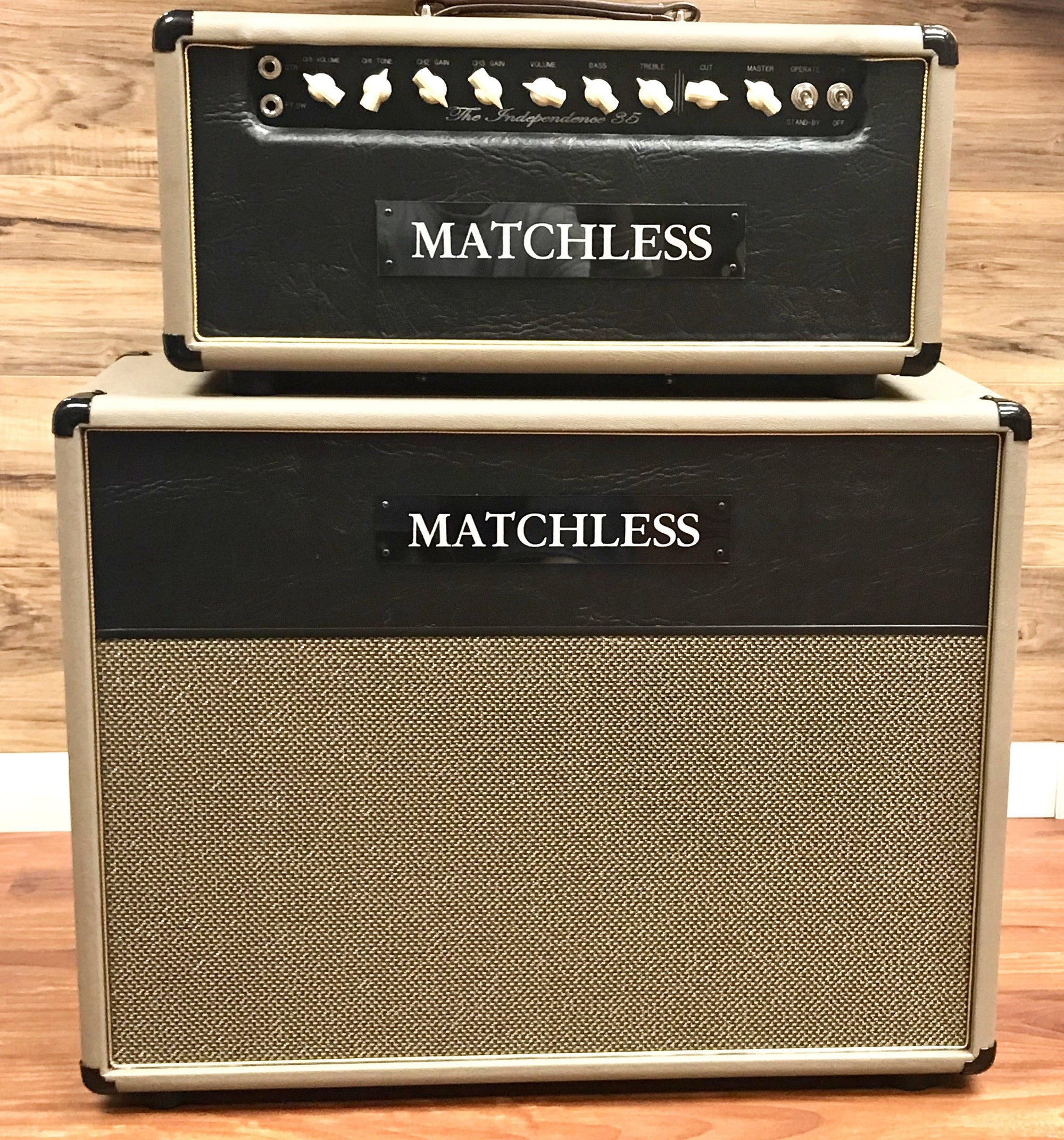 Matchless Independence Head with Reverb and 2X12 Cabinet - Matchless Amplifiers - Heartbreaker Guitars