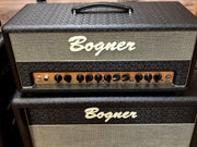 Bogner Shiva Head 20th Anniversary with Reverb and 2x12 Cabinet - Bogner Amplifiers - Heartbreaker Guitars