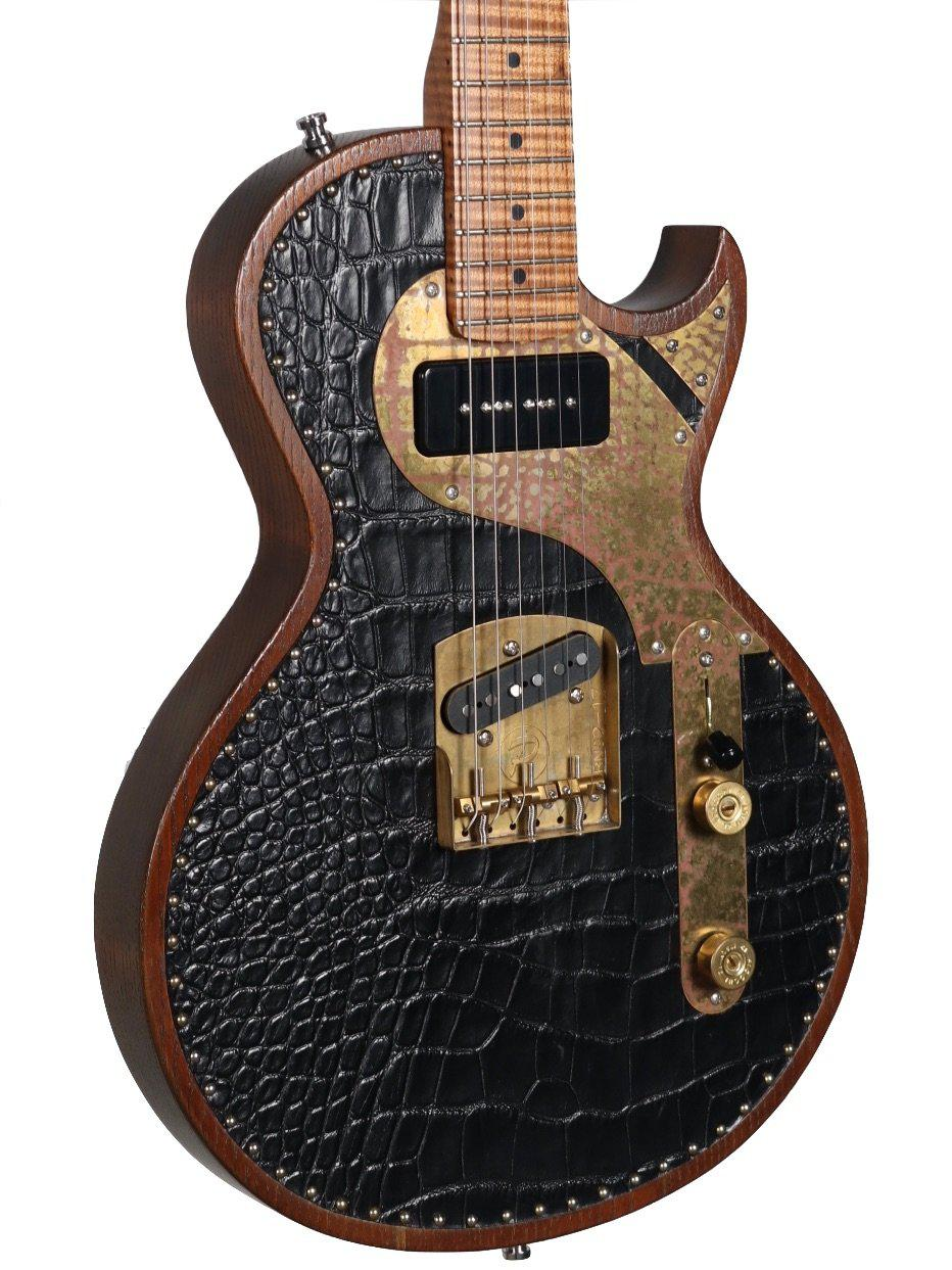 Paoletti Richard Fortus Signature Custom Guitar AUTOGRAPHED Serial #77320 - Paoletti - Heartbreaker Guitars