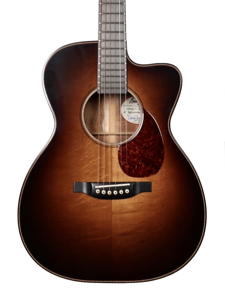 Bourgeois  Large Sound Hole OMC DB Signature Aged Tone Adi Burst over Master Koa - Bourgeois Guitars - Heartbreaker Guitars