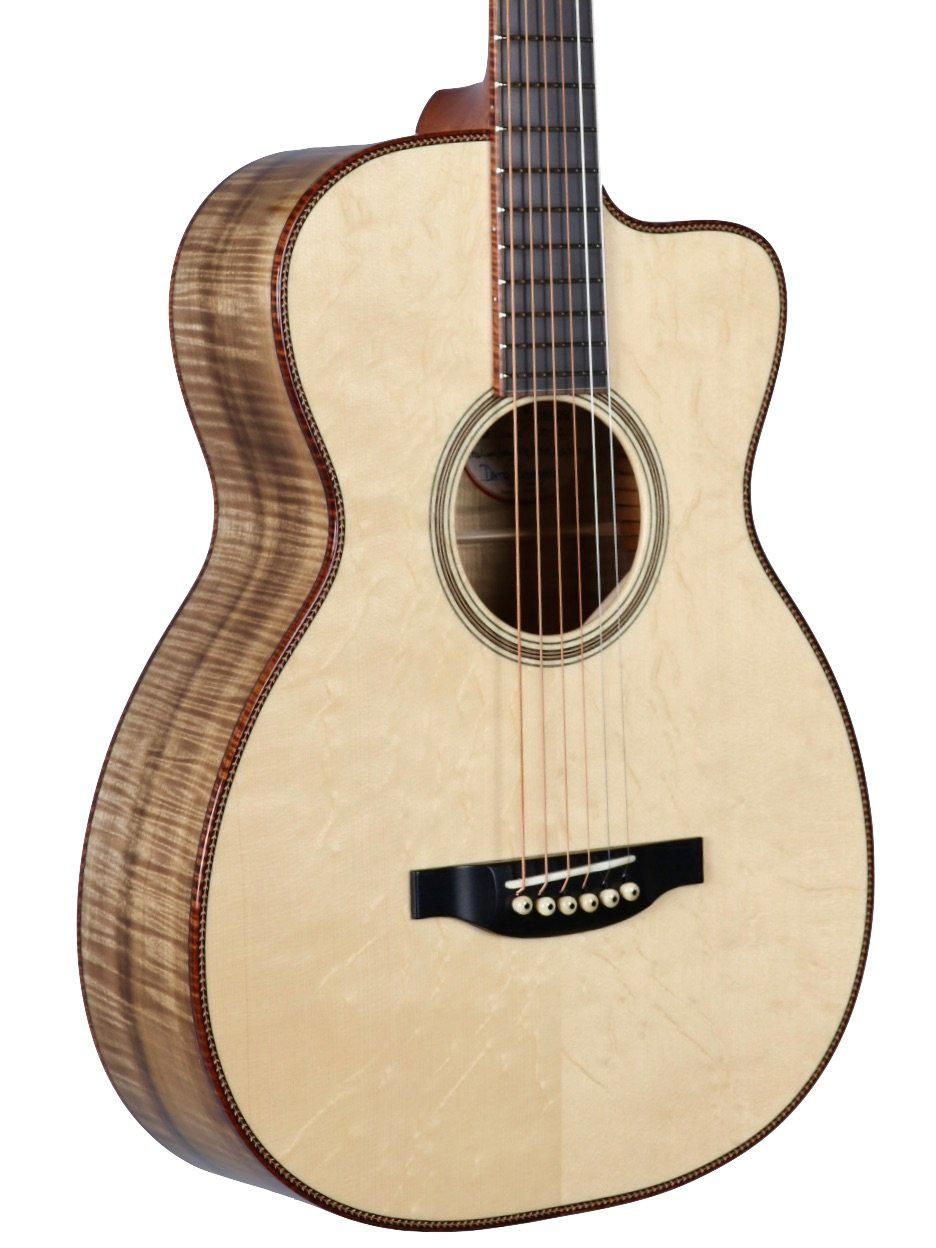 Bourgeois 00 12 Fret Cutaway Fingerstyle Deluxe Legacy Series #8928 - Bourgeois Guitars - Heartbreaker Guitars