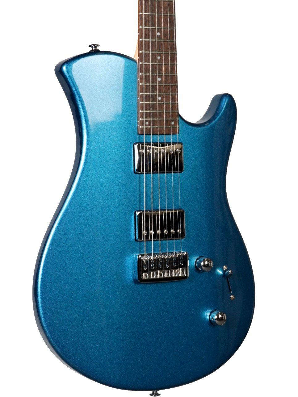 Trinity by Relish Guitars Blue Metallic #TR200344 - Relish Guitars - Heartbreaker Guitars
