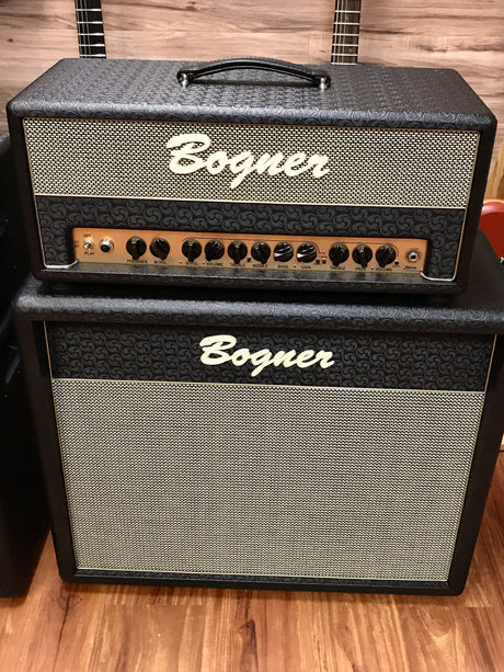 2019 Bogner Shiva Head 20th Anniversary with Reverb and 2x12 Cabinet - Bogner Amplifiers - Heartbreaker Guitars