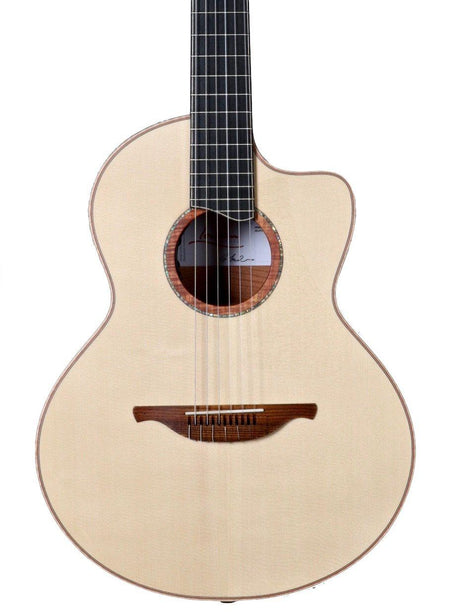 Lowden S50J Nylon Jazz Model  Alpine Spruce / Flamed Mahogany - Lowden Guitars - Heartbreaker Guitars