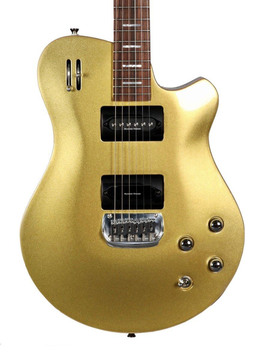 Wild Custom Guitars Gyrock Gold Canadian Maple / Honduran Mahogany #001 - Wild Custom & Sauvage - Heartbreaker Guitars
