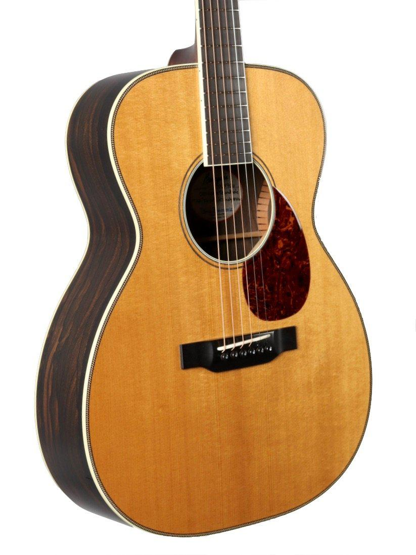 Bourgeois OM Large Sound Hole Aged Tone Adirondack / Ziricote #8706 - Bourgeois Guitars - Heartbreaker Guitars