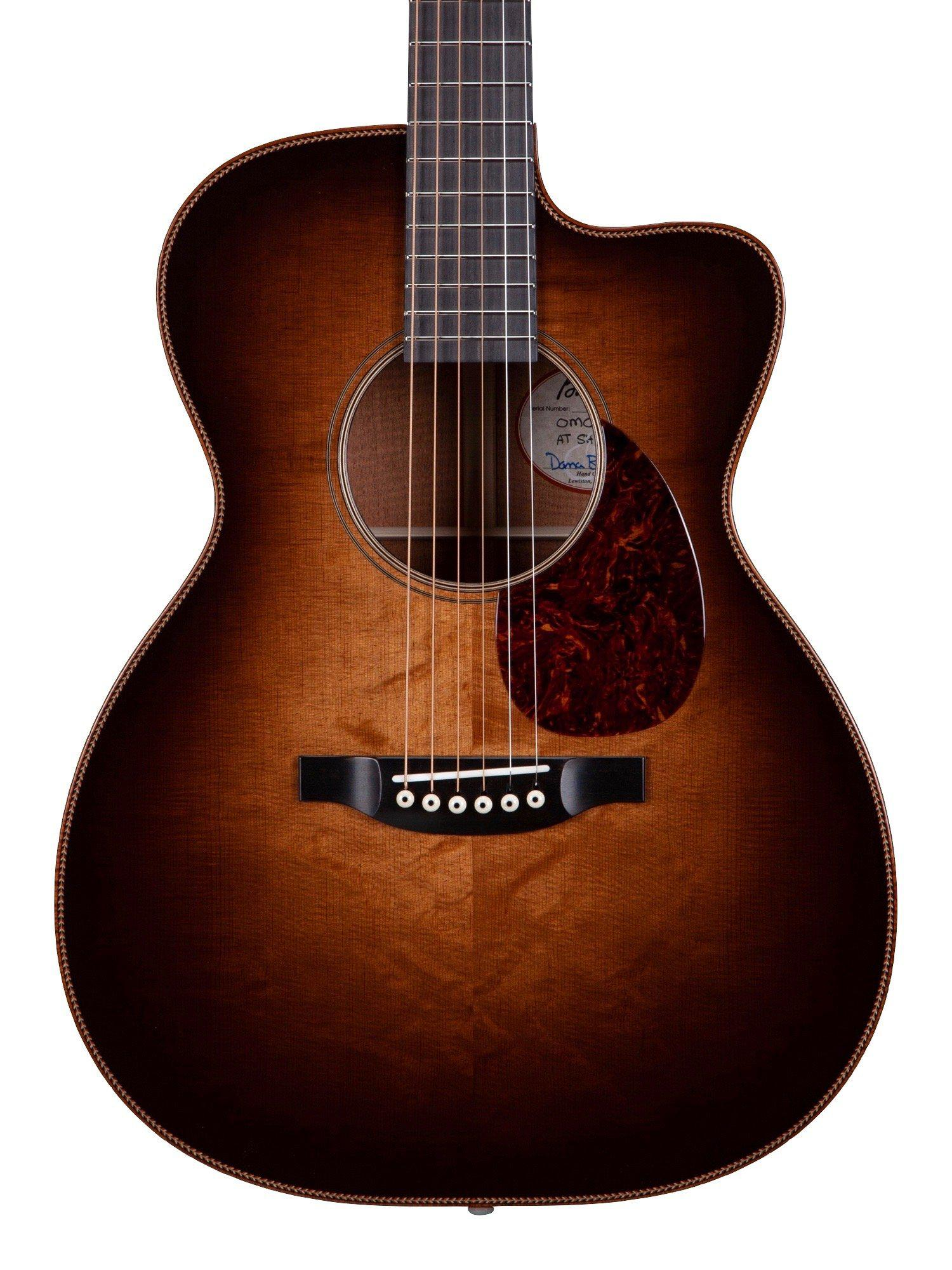 Bourgeois OMC DB Signature Large Sound Hole Custom (Pre-order) February Delivery - Bourgeois Guitars - Heartbreaker Guitars