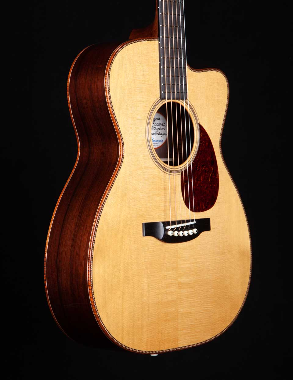 Bourgeois Guitars OMC DB Signature Madagascar Rosewood - Bourgeois Guitars - Heartbreaker Guitars