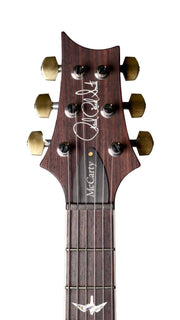 Paul Reed Smith McCarty  10 Top Pattern Carve Straight Stop Tail Black Gold Wrap - Paul Reed Smith Guitars - Heartbreaker Guitars