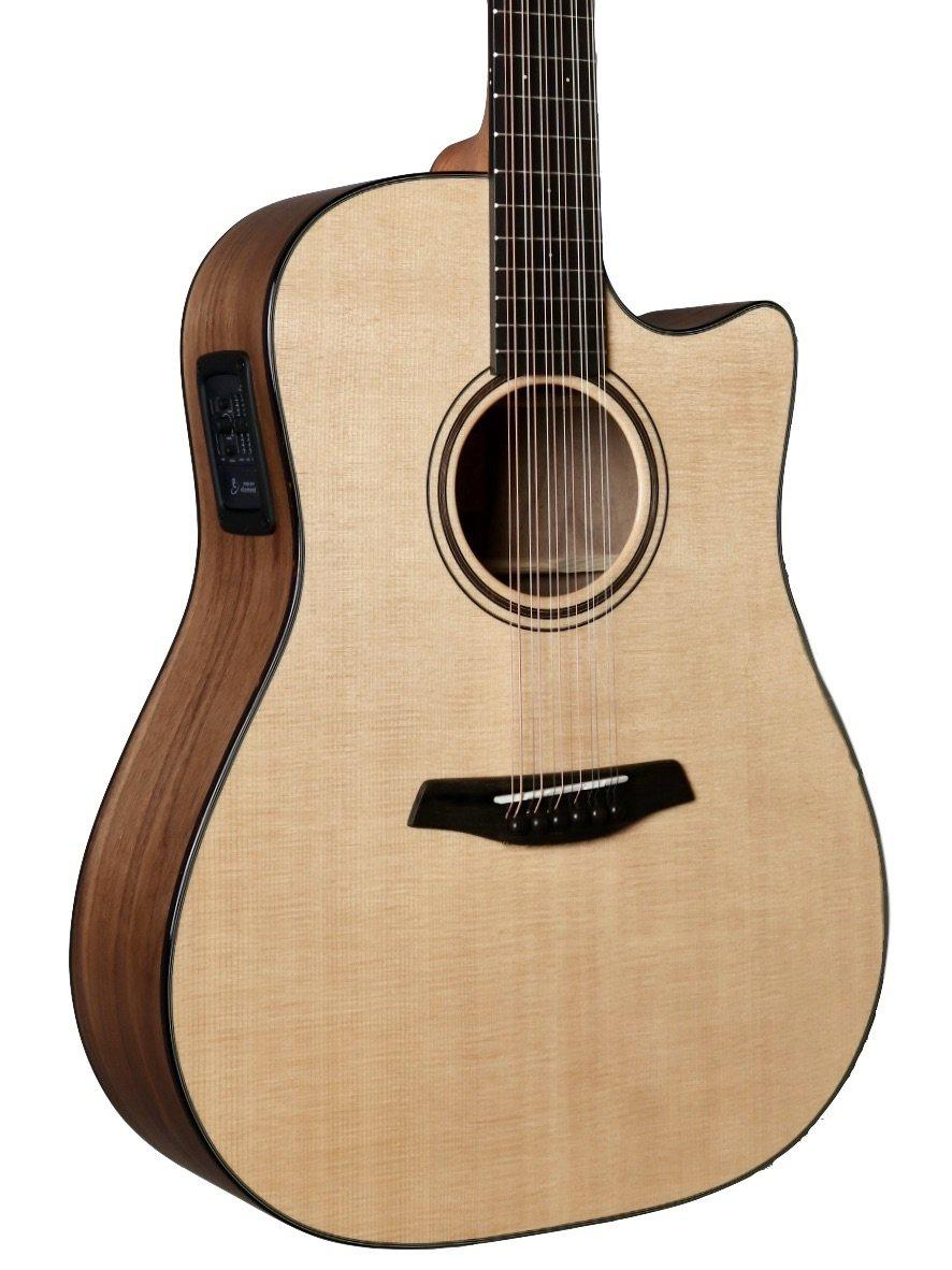 Furch Blue Plus Dreadnought Cutaway 12 String with Sitka Spruce  / Walnut with LR Baggs Element Pickup #90062 - Stonebridge / Furch Guitars - Heartbreaker Guitars