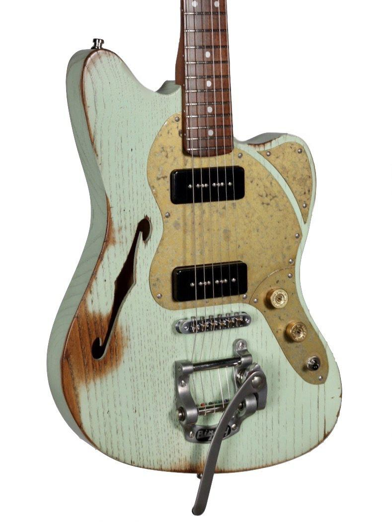 Paoletti Nancy 112 Lounge 2P90 Sage Green #91120 - Paoletti - Heartbreaker Guitars