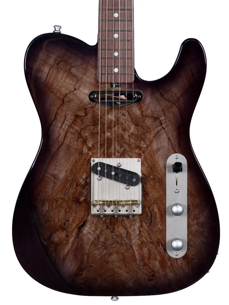 Larrivee Baker-T Spalted Maple / Swamp Ash #135012 - Larrivee Guitars - Heartbreaker Guitars