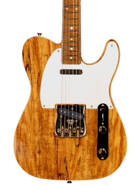 Pre-Owned Fender Custom Shop Telecaster Artisan Series Spalted Maple Dead Mint! - Pre-Owned - Heartbreaker Guitars