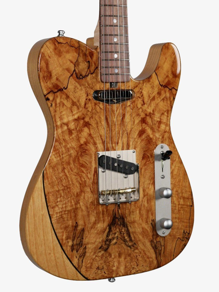 Larrivee Baker-T Spalted Maple / Swamp Ash Natural Finish #135005 - Larrivee Guitars - Heartbreaker Guitars