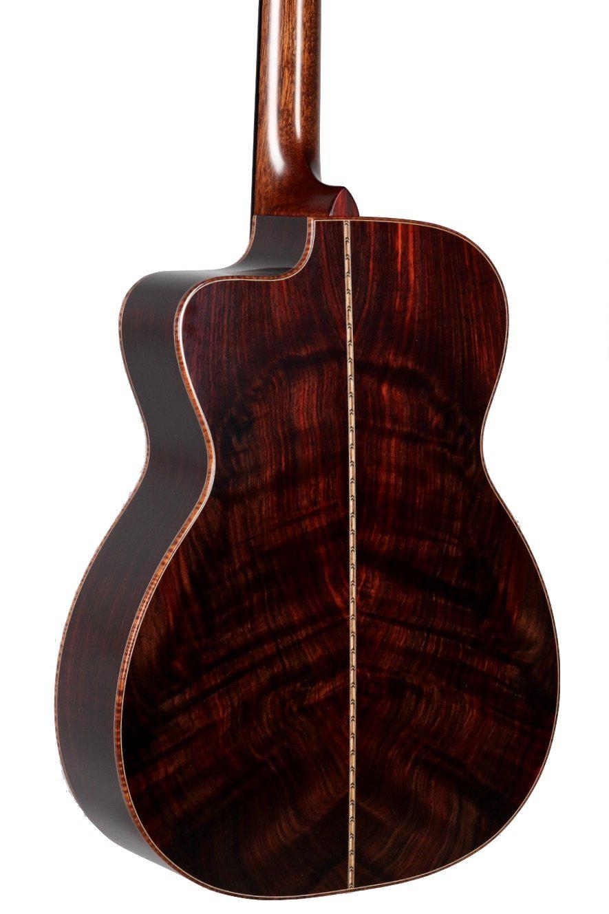 Bourgeois 00 Coupe 12 Fret DB Signature Master Grade Indian Rosewood #9018 - Bourgeois Guitars - Heartbreaker Guitars
