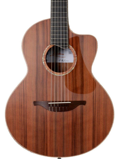 Lowden S50J Sinker Redwood  over Master Grade Guatamalan Rosewood Jazz Model #23608 - Lowden Guitars - Heartbreaker Guitars