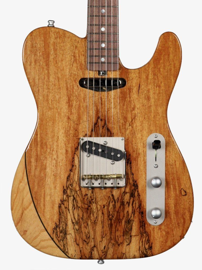 Larrivee Baker-T Spalted Maple / Swamp Ash Natural Finish #135003 - Larrivee Guitars - Heartbreaker Guitars