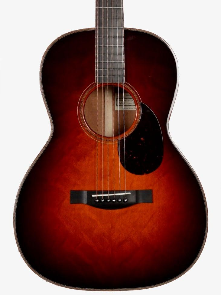 Santa Cruz 000 Custom Dark Burst Bear Claw/ Mahogany #5770 - Santa Cruz Guitar Company - Heartbreaker Guitars